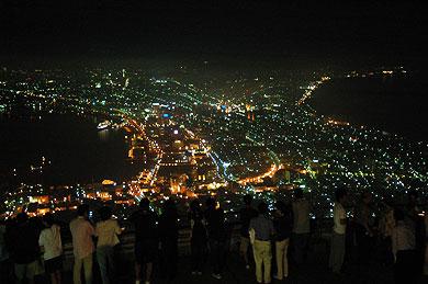 函館山からの定番夜景